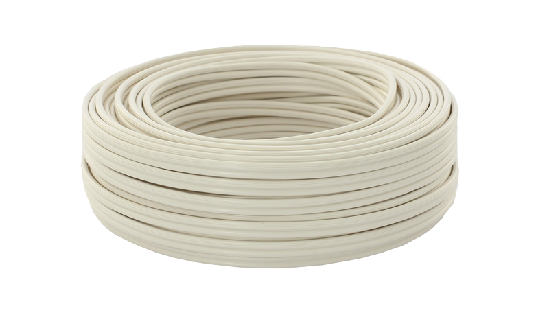20m Ring 2 x 1,5qmm 99,99% OFC Kupfer Lautsprecherkabel weiß Litze 0 ...
