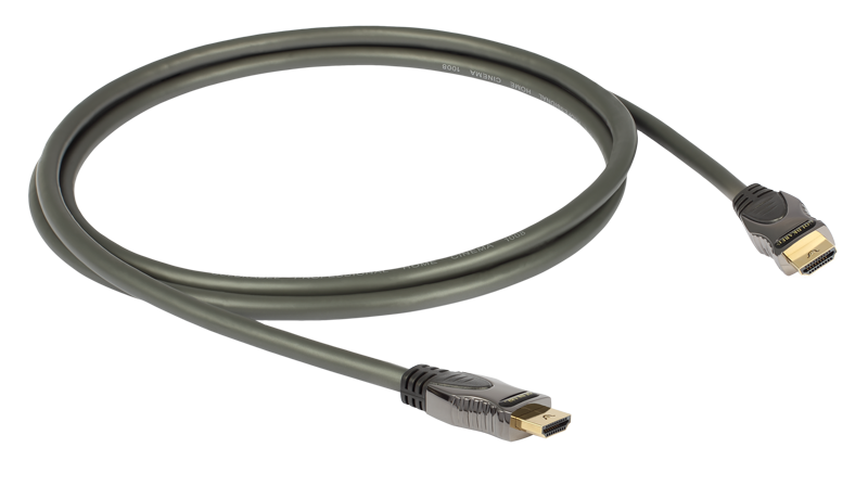 Goldkabel Profi High Speed HDMI Kabel mit Ethernet 2,5m